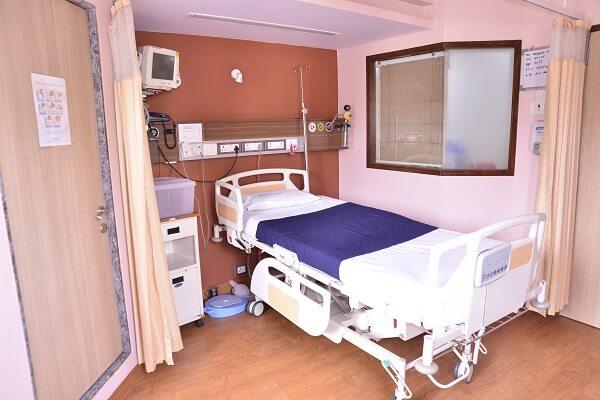 special patient room