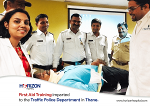 horizon doctors with traffic police