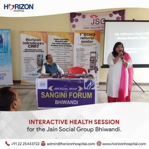 interactive health session