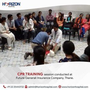 CPR Training at Future Generali Insurance company , Thane